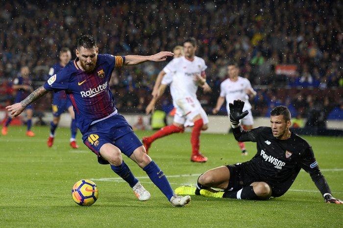 2f66017727 Barcelona vence Sevilla em 600ª partida de Messi