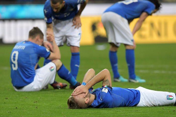 69ef535d5f Itália se junta a grandes seleções que ficaram de fora do Mundial ...