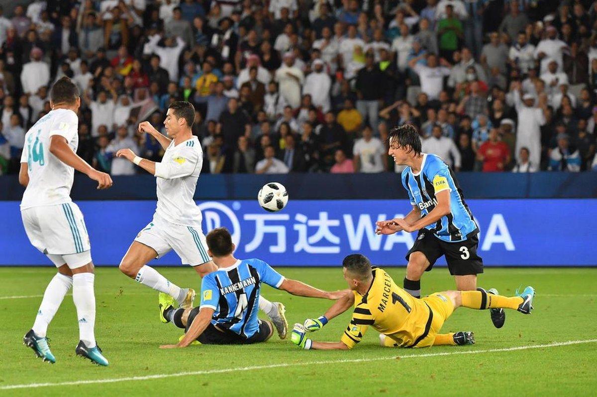 Perder só de 1 a 0 para o Real Madrid foi uma façanha para o Grêmio