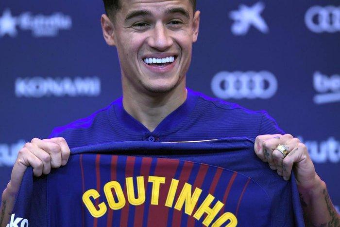 Coutinho usará camisa histórica no Barcelona dea89d3bc2c60