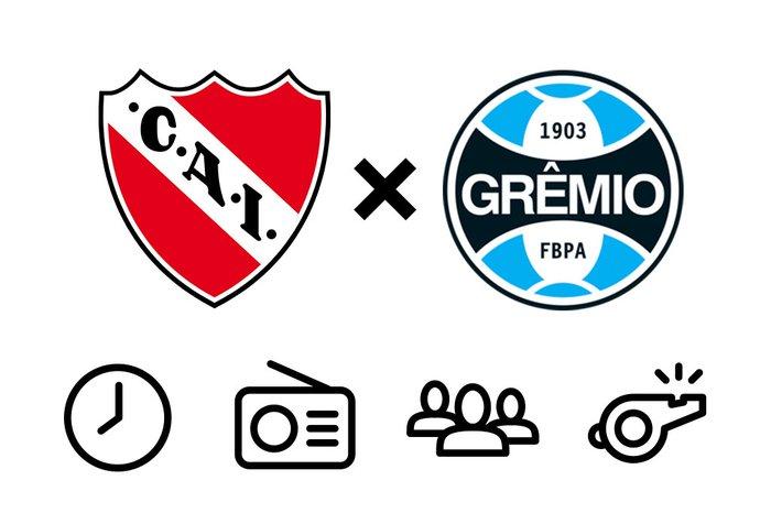 0161d145ef Independiente x Grêmio  tudo o que você precisa saber para ...
