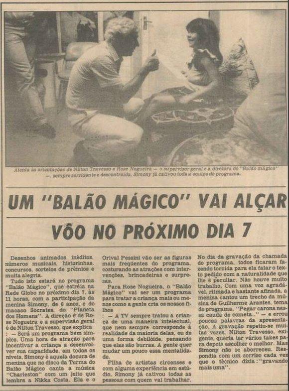 Relembre O Programa Balao Magico Que Estreava Ha 35 Anos Na