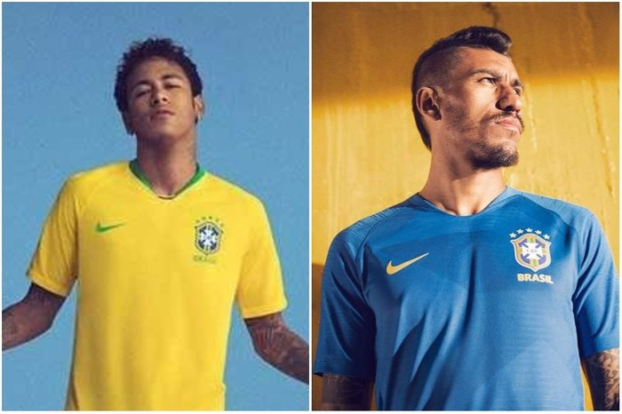 7845a4b5d8 Nike lança camiseta da Seleção Brasileira para a Copa