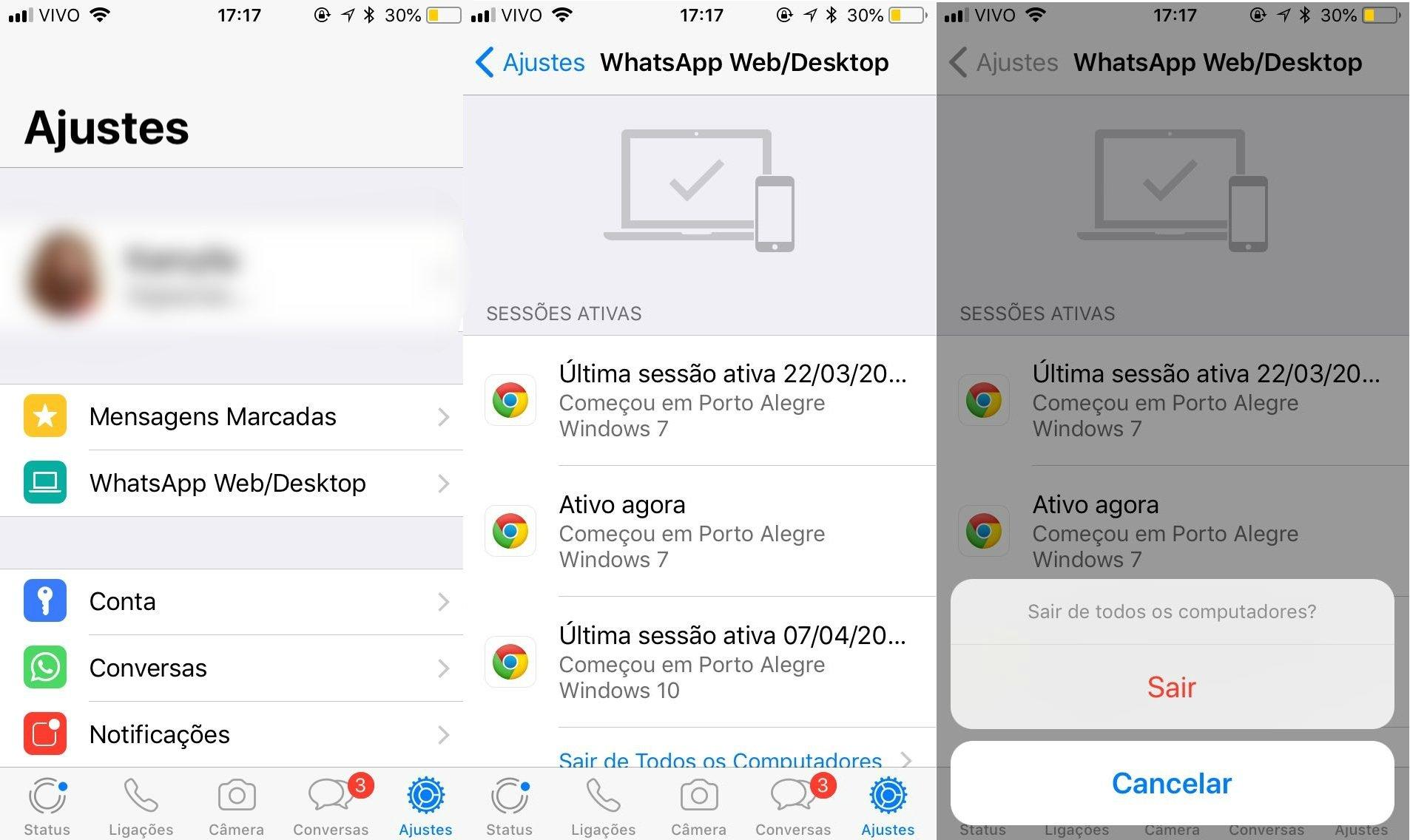 espionar whatsapp iphone 7