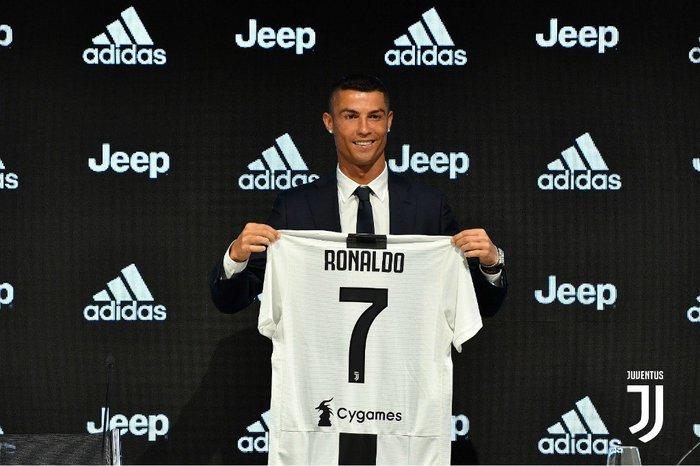 Cristiano Ronaldo é apresentado na Juventus