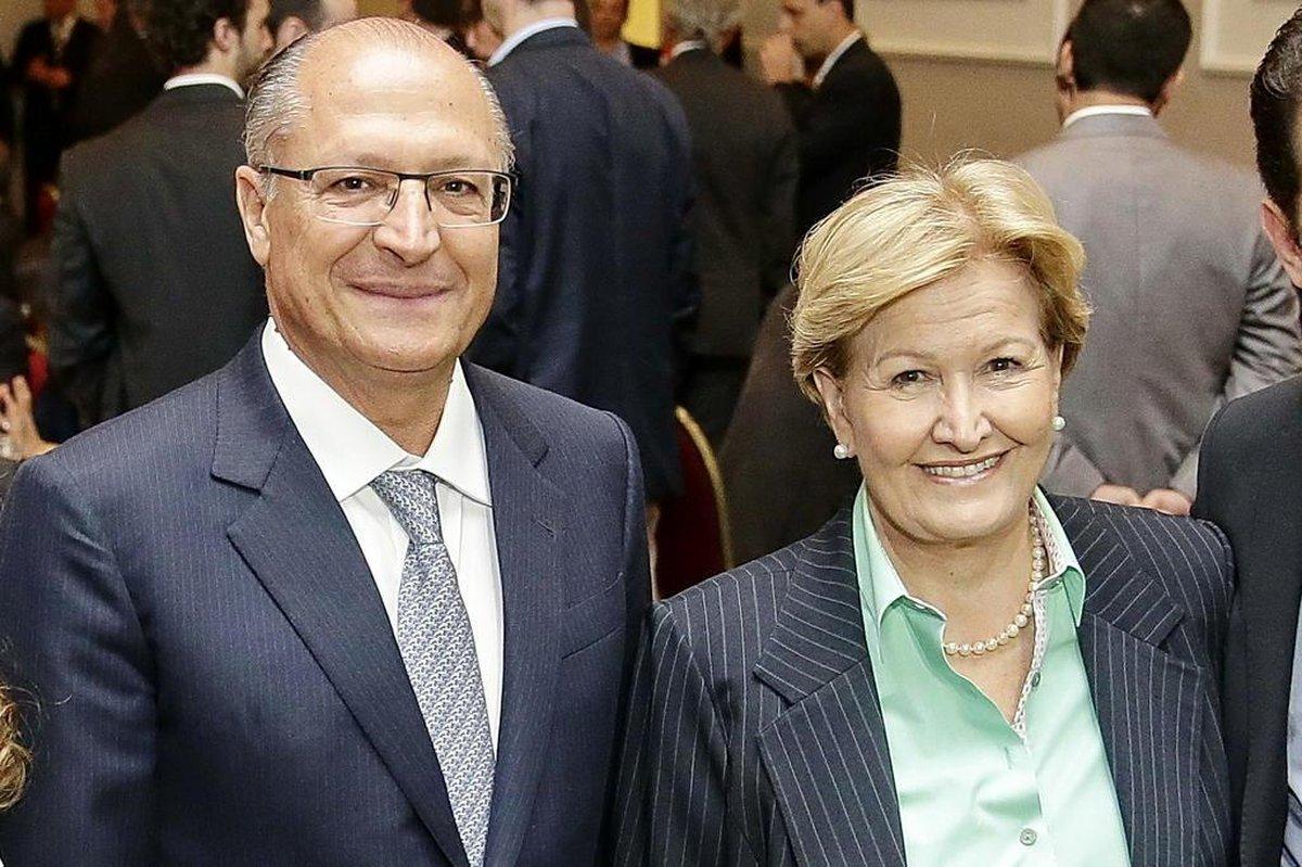 Resultado de imagem para ana amelia e alckmin