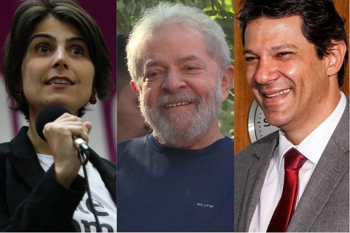 Resultado de imagem para PT oficializa nome de Haddad como candidato a presidente no lugar de Lula con vice comunista