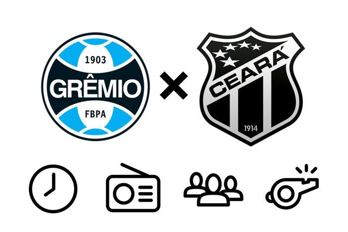 Grêmio x Ceará  horário 144dc9e0eb60e