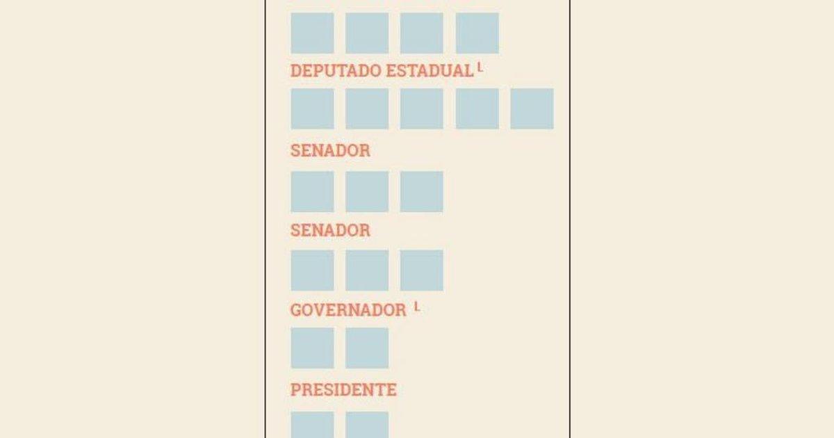 Imprima E Preencha Sua Cola Para As Eleições 2018 Gaúchazh