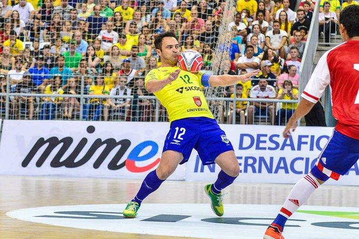 Falcão se despede da Seleção Brasileira de Futsal com mais de 400 ... a12ca5cb9e03b