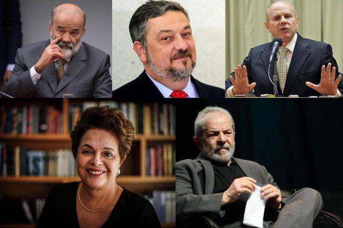 Fernando Frazão,Félix Zucco,Elza Fiúza,Evaristo Sá e Marcelo Camargo / Agência RBS/AFP/Agência Brasil/Divulgação