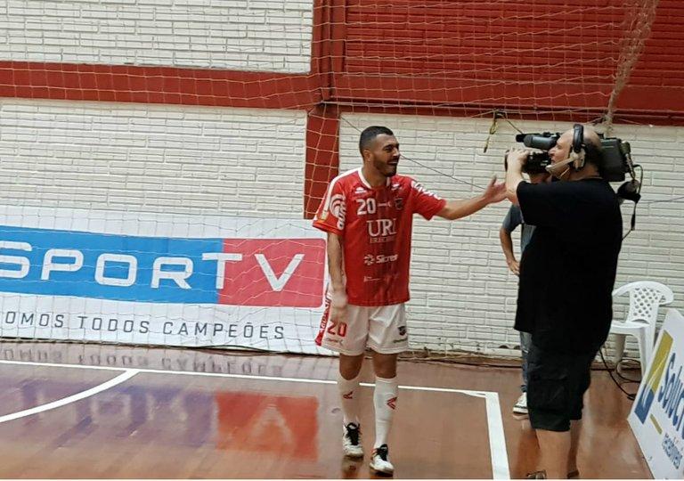 56d87d9276 Atlântico vence o Copagril e está na final da Liga Nacional de Futsal. No  lance