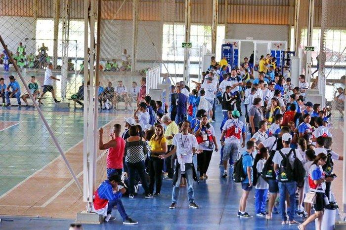 e077caae82 Edição nacional das Olimpíadas Especiais das Apaes reúne mais de mil ...