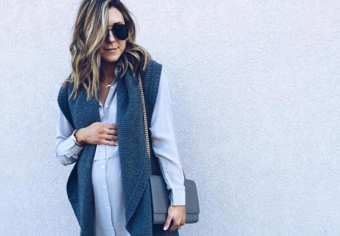 Grávida com estilo  blogueira de moda dá dicas para looks fora do ... 6e9c5465c2