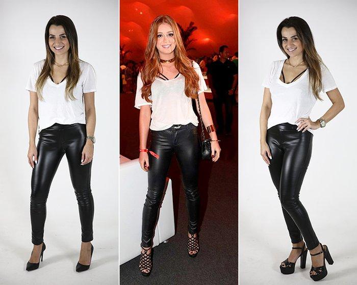 702bfa2c8 Calça de couro preta: aprenda a usar uma peça em vários looks | Donna