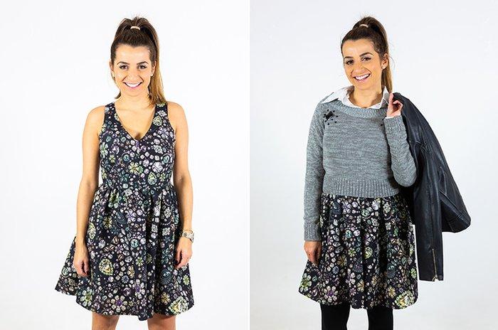 e50302326 Como usar roupas de verão no inverno. Vem ver looks com vestidos ...