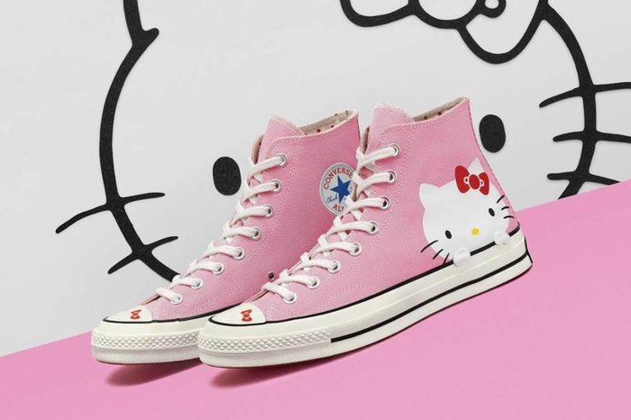 4b696c8651e Converse lança tênis All Star inspirado na Hello Kitty e é muito ...