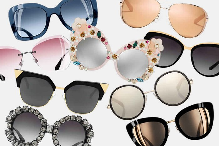 Lá vem o sol! Conheça as tendências de óculos para o verão 2018   Donna 954eb7fed5
