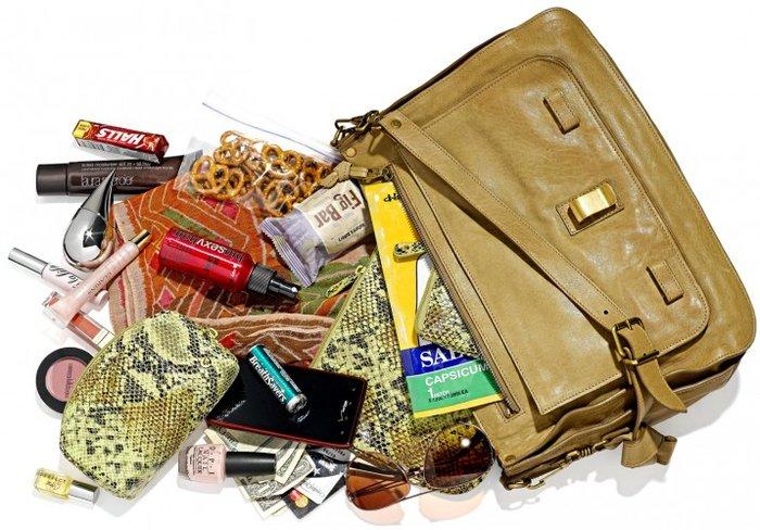 Resultado de imagem para organizar a bolsa