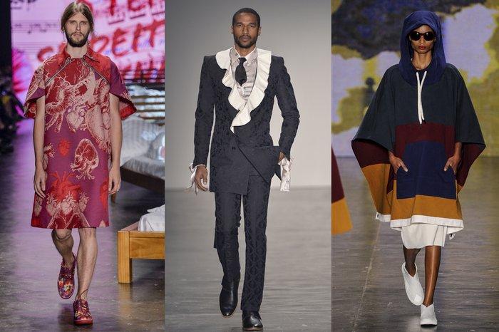 a8bffd6a0 Unissex! Tendência de minimizar a diferença de gêneros nas roupas ...