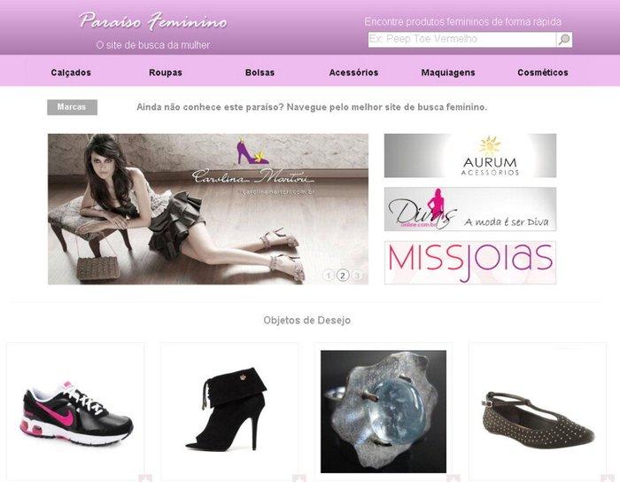 ce8be4ef3 Site permite acessar vários produtos de marcas diferentes em uma punica  página