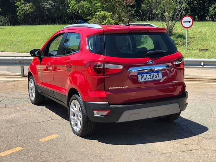 Ecosport Titanium Run Flat 2020 Dispensa Estepe E Custa R 103 890