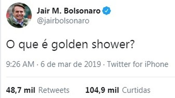 O Que é Golden Shower Como A Internet Reagiu à Pergunta