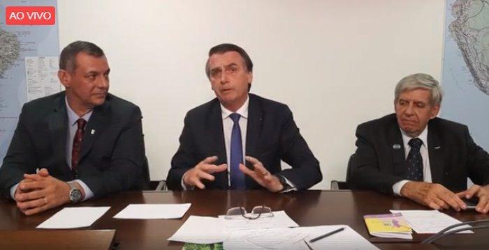 Resultado de imagem para Bolsonaro anuncia fim de lombadas eletrônicas e defende reforma da previdência