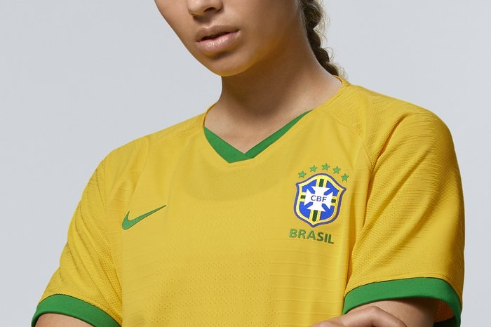 500c1716da Uniforme da Seleção feminina terá apenas estrelas das conquistas das ...