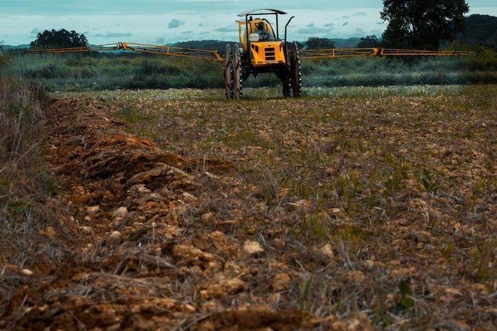 Resultado de imagem para Solo brasileiro contém mistura complexa de agrotóxicos, aponta estudo realizado em Rio Grande