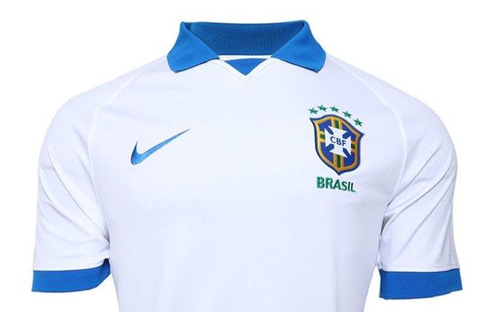 dabb33acd7 Seleção Brasileira apresenta camisa branca para a estreia na Copa América |  GaúchaZH