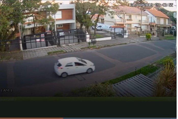 Divulgação / Câmera de segurança