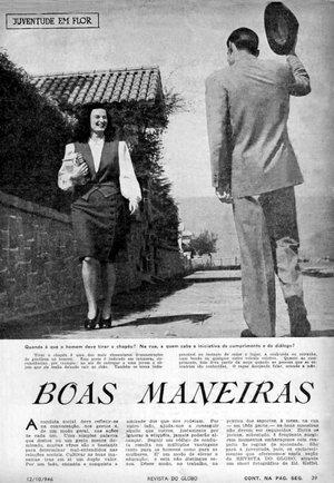 Reprodução / Revista do Globo