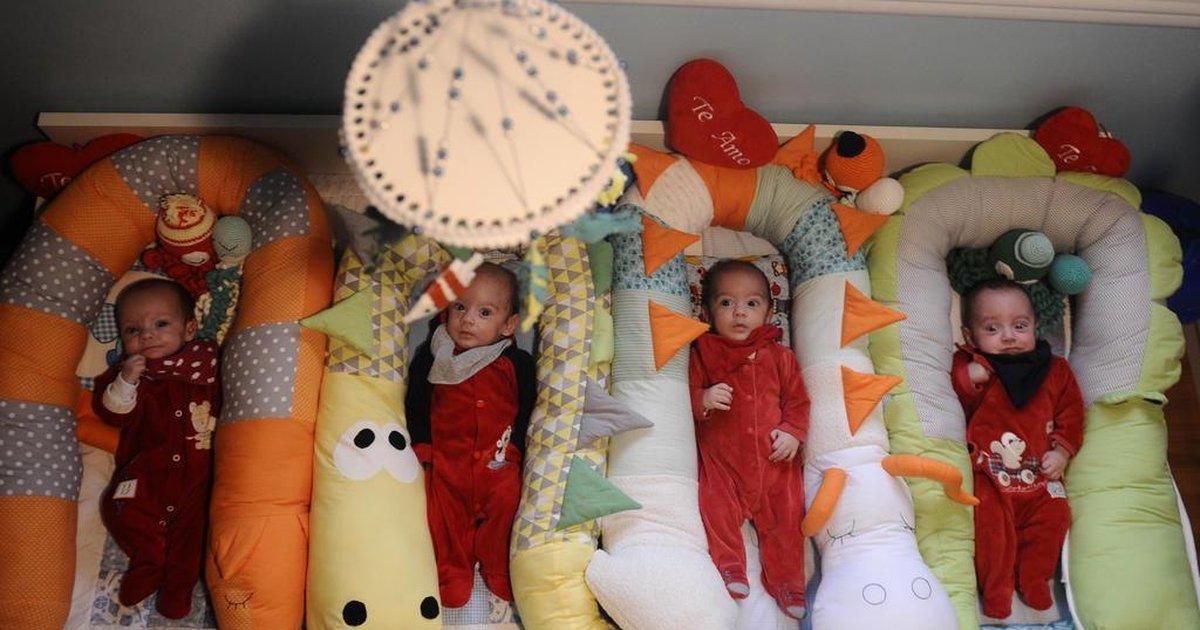 Em gravidez natural, família de Caxias do Sul tem o sonho de ter filhos multiplicado por quatro - GaúchaZH