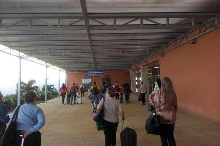 Porto Alegre Ilha Do Sal Como Foi O Voo Inaugural Da