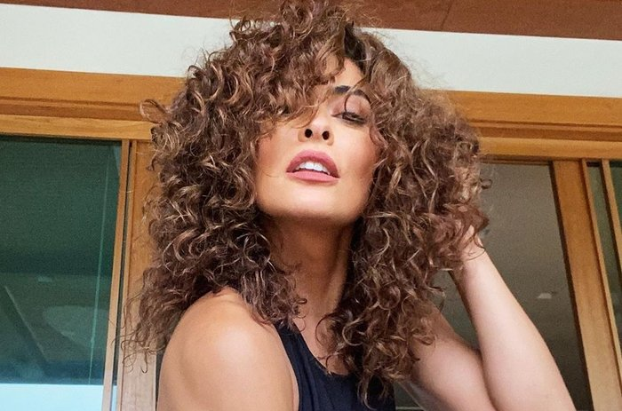 """Juliana Paes sobre seu cabelo natural: """"Nunca consegui emplacar em ..."""