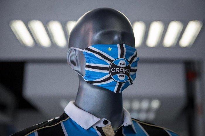 Grêmio lança máscara personalizada de proteção ao coronavírus ...