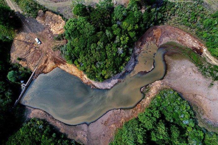 Com baixo nível da barragem, Fontoura Xavier passou a ser abastecida por caminhão-pipa