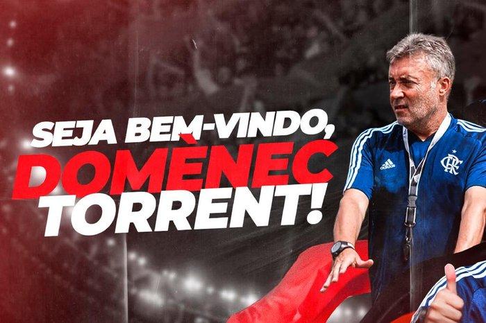 Flamengo anuncia a contratação do técnico espanhol Domènec Torrént | GZH