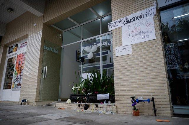 Torres, RS, Brasil - 26/08/2021 - Local onde foi morto o policial rodoviário aposentado Fábio Zortea. (Foto: Anselmo Cunha/Agência RBS)<!-- NICAID(14872741) -->