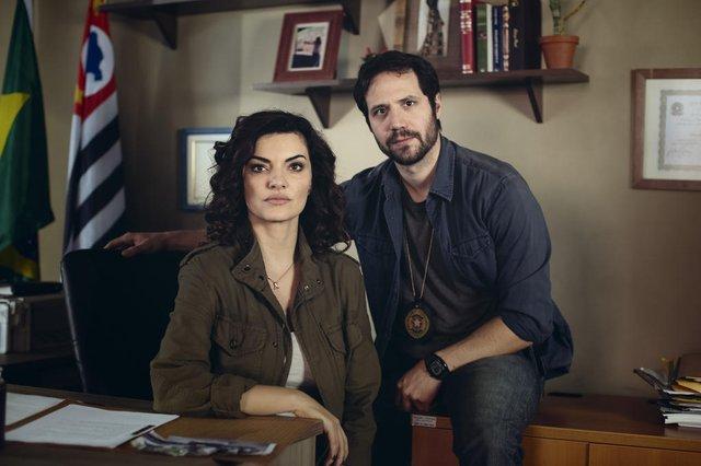 Rotas do Ódio, série do Universal Channel, Mayana Neiva e Antonio Saboia <!-- NICAID(13457496) -->