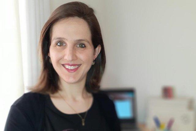Sandra Pereira Marcolin, 37 anos, mãe da Eduarda e proprietária da História Singular<!-- NICAID(14890149) -->