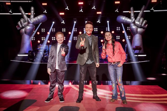 Final The Voice Kids, time Michel Teló<!-- NICAID(14895048) -->