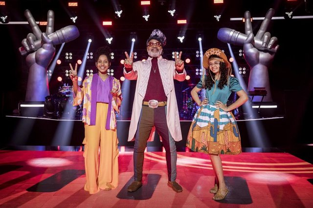 Final The Voice Kids, time Carlinhos Brown<!-- NICAID(14895049) -->