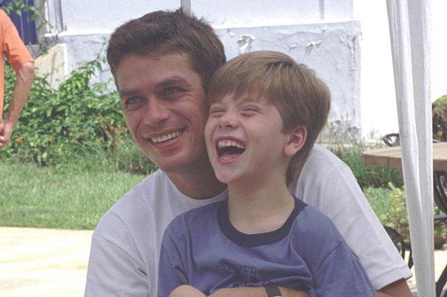 Ator Fábio Assunção como Pedro malta na novela Coração de Estudante (2002).#PÁGINA:01 Fonte: Divulgação<!-- NICAID(471463) -->